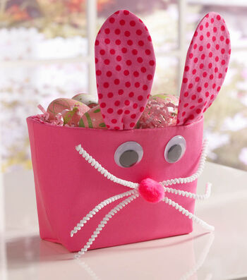 How To Make A Bunny Basket