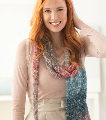 How To Make A Lion Brand Shawl In A Ball Milky Way Shawl