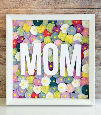 Make a Mother's Day Shadow Box