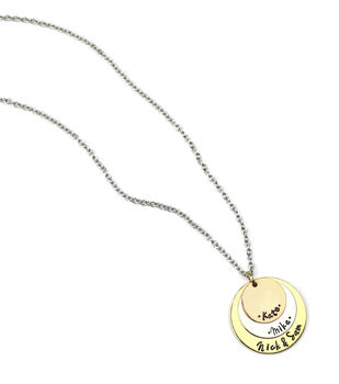 How To Make a Hand Stamped Necklace
