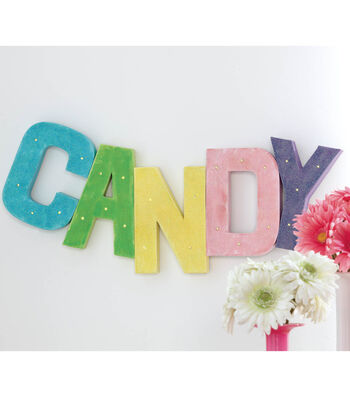 Idea Market Candy Marquee Letters
