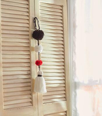 Make A Pompom Tassel Decoration