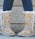 Glitter Polka Dot Boots