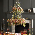 How To Make a Wildflower Layerd Wreath Chandelier