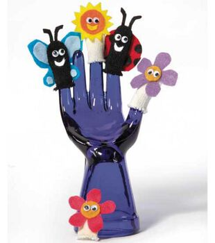 Earth Day Glove Finger Puppets