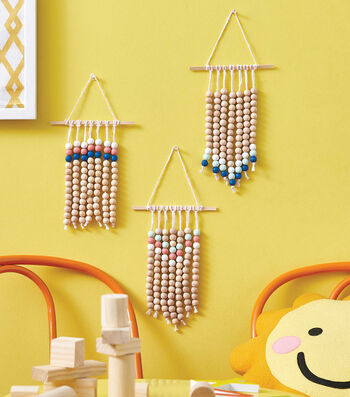 How To Make Mini Beaded Wall Hangings