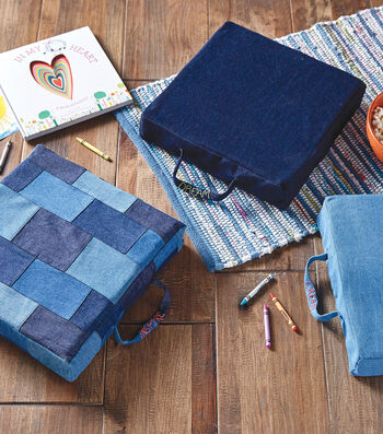 How To Make A Denim Cushions
