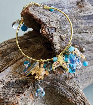 How To Make a Seaside Charm Bracelet