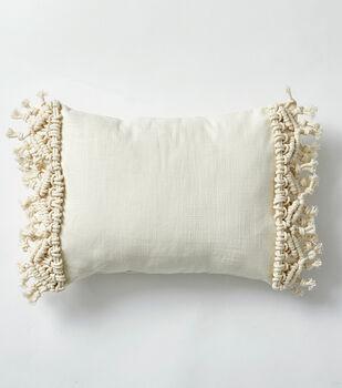 How To Make a Macrame Pillow