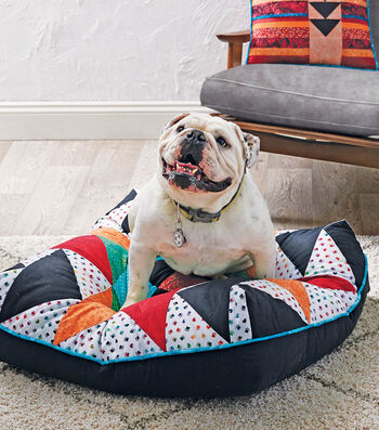 How To Make A Patchwork Dog Bed