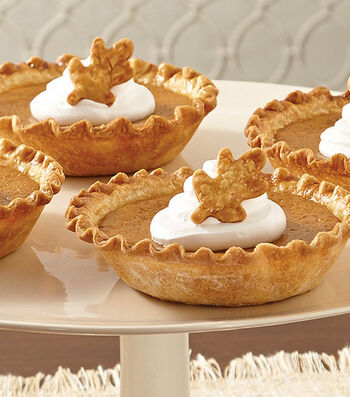Mini Bourbon Pumpkin Pies