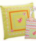 Babyville Boutique Ribbon Pillow