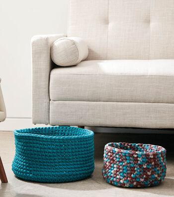 Bernat Simple Crochet Baskets