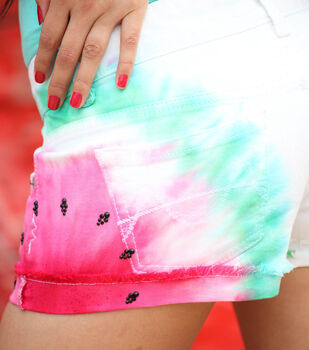 DIY Watermelon Shorts