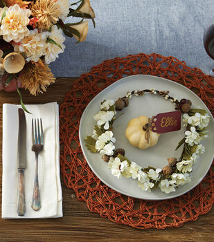 How To Make A Fall Place Setting