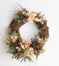 How to Make a Fall Floral Wreath