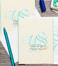 Monogrammed Thank You Cards