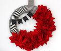How to Make Ruffle Wreath and Valentine\u0027s Day Bunting