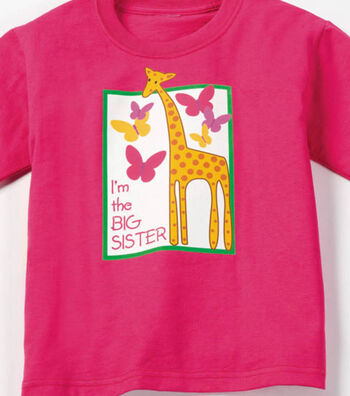 How To Make A Big Sister T-Shirt