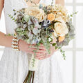 Make A Muted Bridal Bouquet