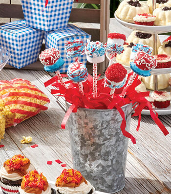 How To Make a Patriotic Marshmallows on a Stick