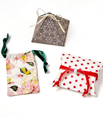 How To Make Tiny Gift Packages with Ribbon