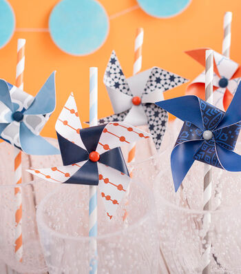 How To Make Pinwheel Party Straws