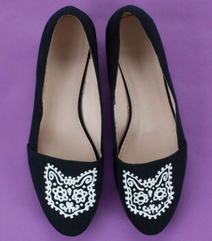 Cat's Meow Black Flats
