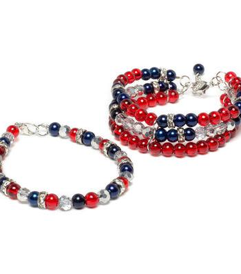 Patriot Braided Bracelet