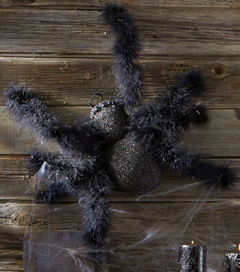 Black Wooly Spider