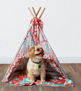How To Sew A Fleece Dog Tee-Pee and Mat