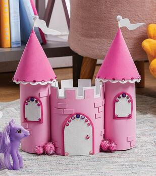 How To Make A Foamie Princess Castle