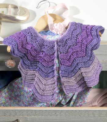How To Make a Vintage Baby Cardigan