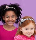 Pink Camo Zipper Headband