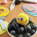 How To Make Chalk Pen Black and White Eggs