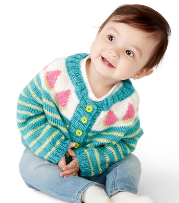 How To Make A Bernat Five A Day Cardigan