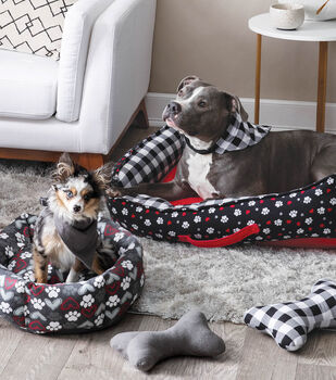 How To Make Dog Beds, Scarf and Toy Bone