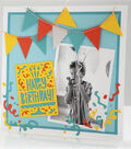 Cricut Mini - Celebrate Happy Birthday Layout