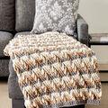 How To Make A Step Ladder Crochet Blanket