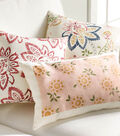 Buttercream Stenciled Art Pillows