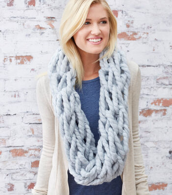 How To Make A Comfy Arm Knit Cowl