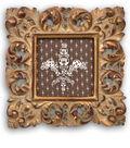 Framed Fleur de Lis Snaps Art