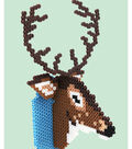 Perler deer plaque photo
