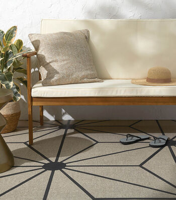 How To Make A Painted Patio Floor