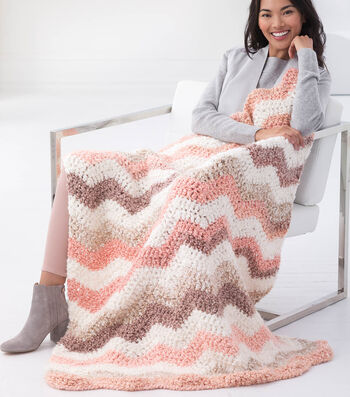 How To Crochet A Dreamy Vintage Ripple Throw