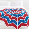Spiderweb Crochet Blanket