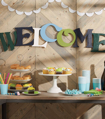 How To Make A Painted Welcome Sign