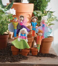 We Made It Doll Pin Garden Marker