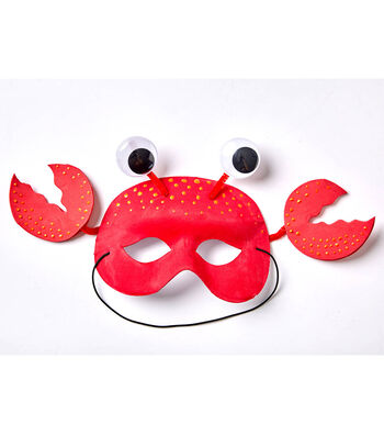 How To Make A Crab Mask