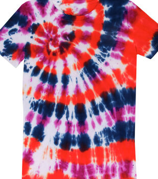 How To Make a Rainbow Spiral Technique T-Shirt